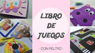 DIY: LIBRO DE JUEGOS PARA NIÑOS HECHO DE FIELTRO. Plantillas gratuitas | LaMaletadeRayas