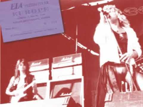 EUROPE Live in Vargön, Sweden 1985. Full show. Audio only.