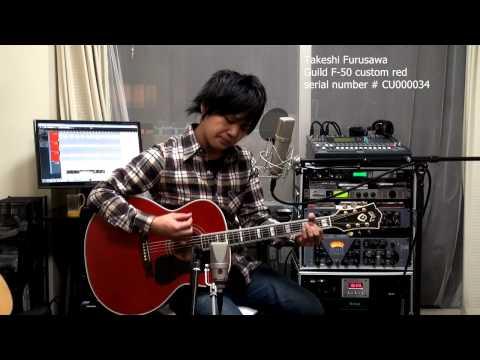 Across The Universe The Beatles Guild F-50 Takeshi Furusawa 古澤剛