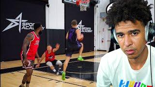 2HYPE Got EXPOSED BAD! 5v5 Basketball Reaction!