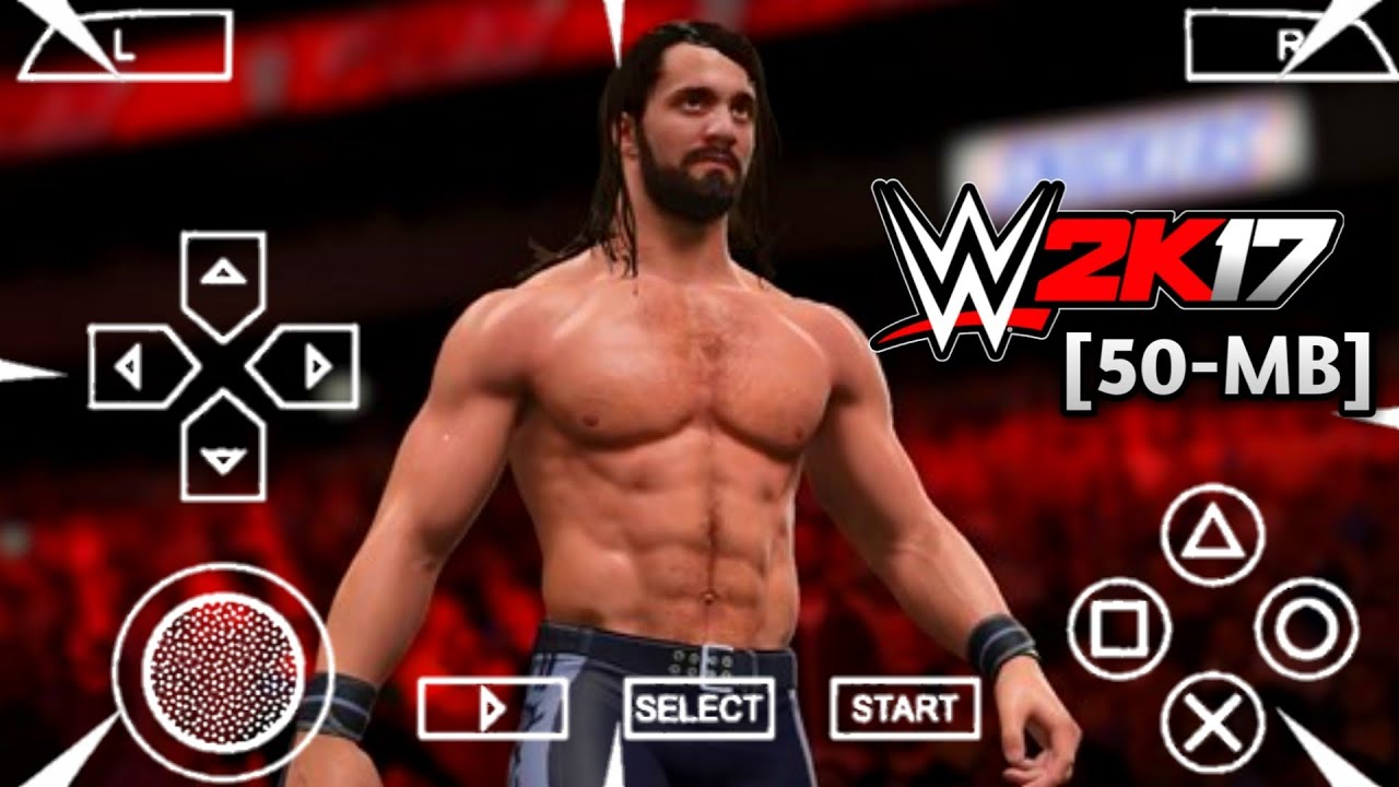 [50MB] Wwe 2k17 Highly Compress Psp For Android | Mod In Wwe All Stars Must  Try