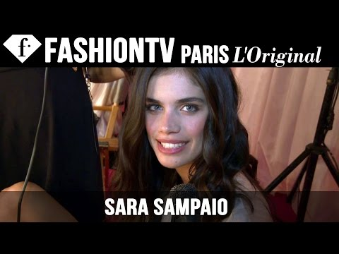 Victoria's Secret Fashion Show 2014-2015 BACKSTAGE: Sara Sampaio Exclusive Interview | FashionTV