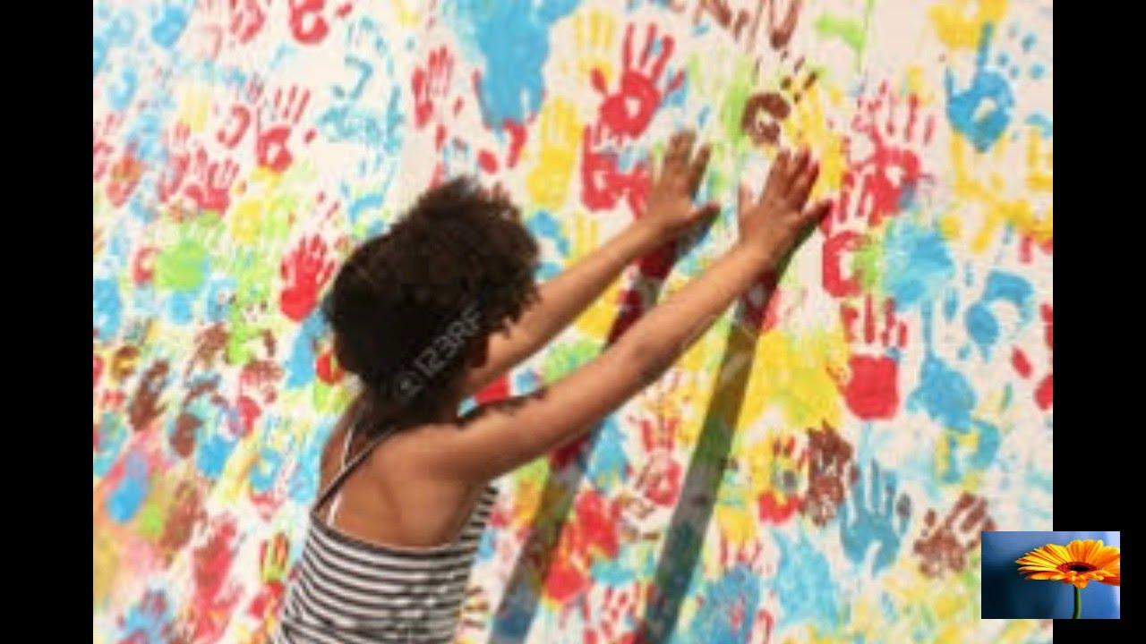 Mural Para El Dia Del Nino De 16 Ideas Fantasticas Youtube