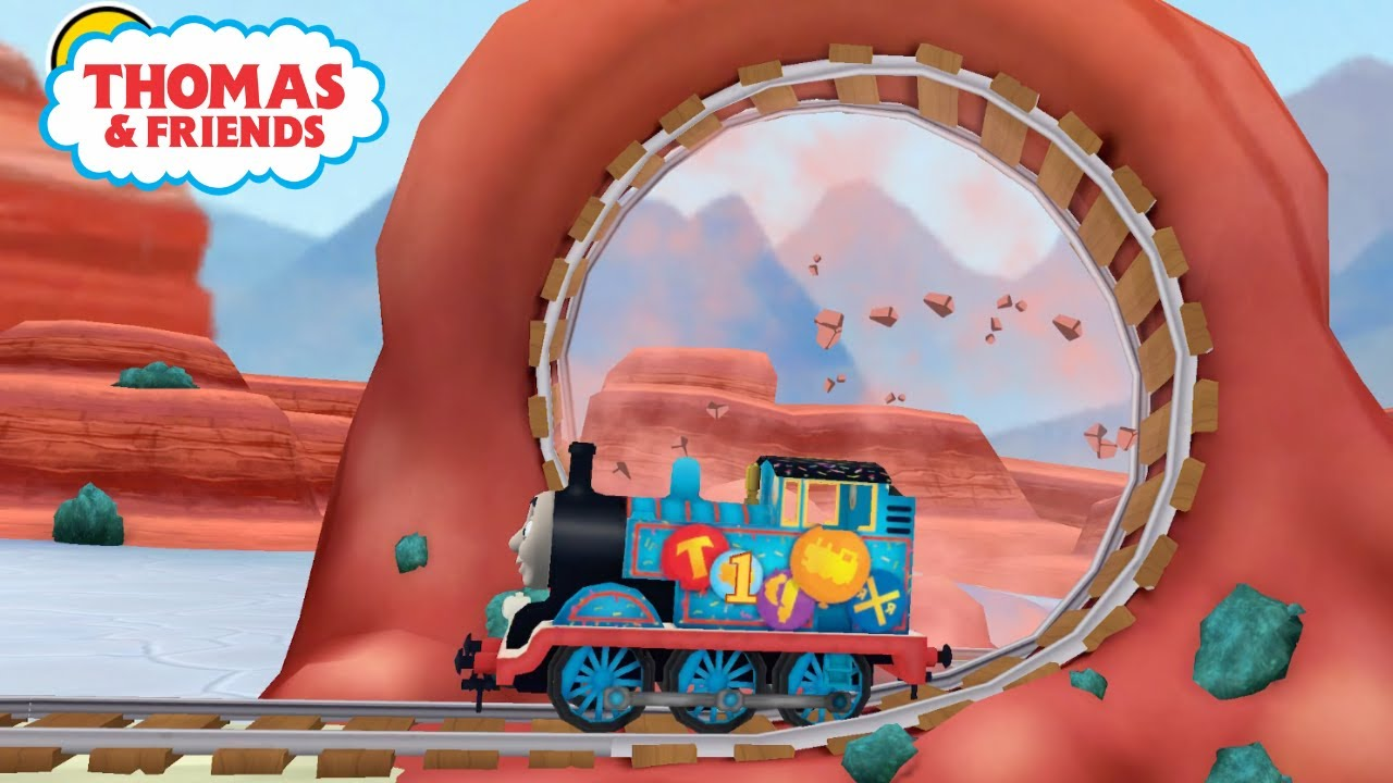 Thomas & Friends: Adventures! 🚆Play as THOMAS Birthday in UNITED STATES Map! 🇺🇸