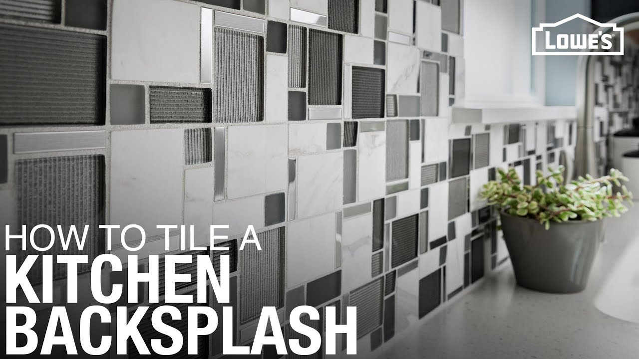 How to Tile a Kitchen Backsplash - YouTube