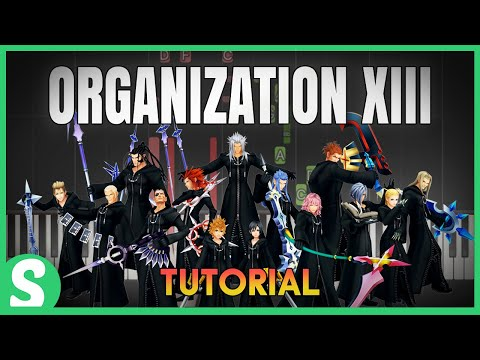 """How to play """"ORGANIZATION XIII"""" from Kingdom Hearts II 