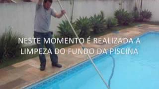Como limpar uma piscina - Passo a passo