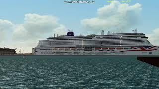 Gambar cover P&O Cruises Iona - Southampton arrival test - VSF (Vehicle Simulator
