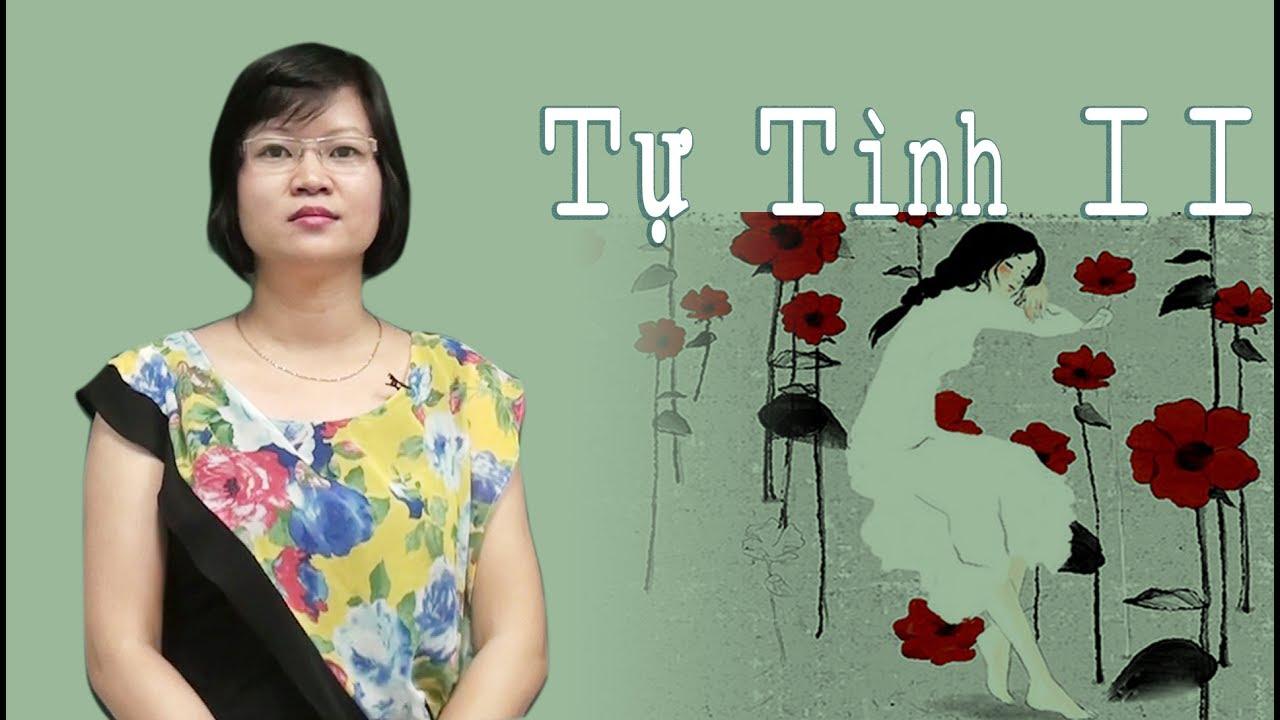 Tự Tình II – tiết 1 – lớp 11- Cô Phạm Thị Thu Phương
