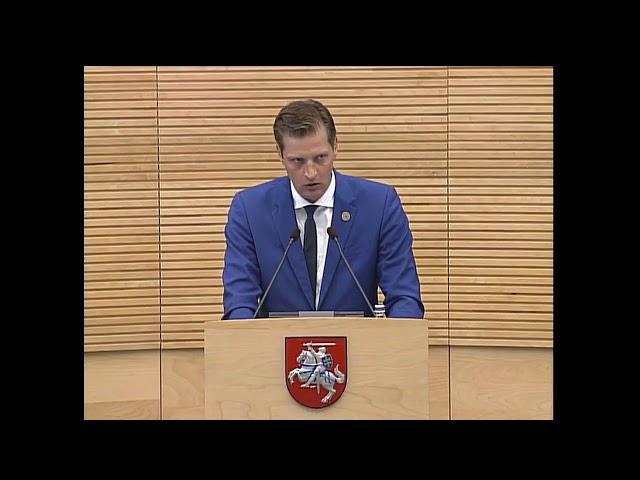 Aplinkos ministras Mažeika ant kilimėlio Seime - chaosas miškų sektoriuje, 2019 06 27