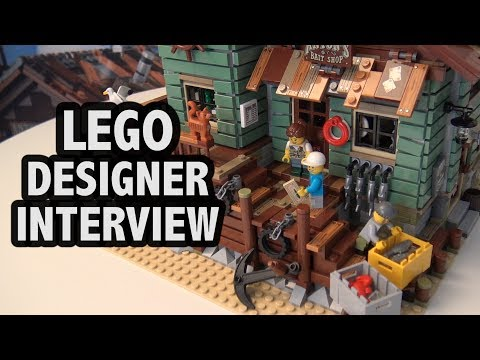 How the LEGO Old Fishing Store Set was Created | LEGO Ideas