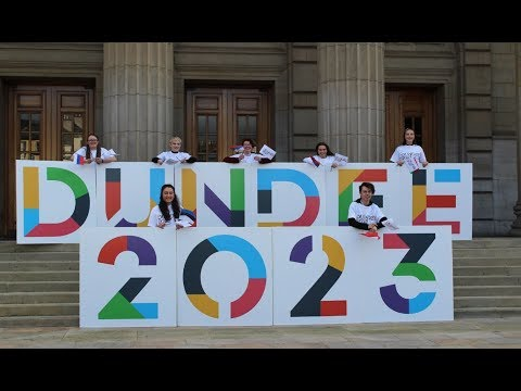 DUNDEE'S EUROPEAN CITY OF CULTURE 2023 BID SEND OFF!