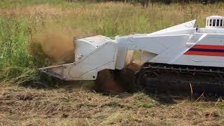 Робот МЧС ищет мины под Ржевом