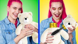 14 Weird Ways To Sneak Makeup Into Class  Back To School Pranks