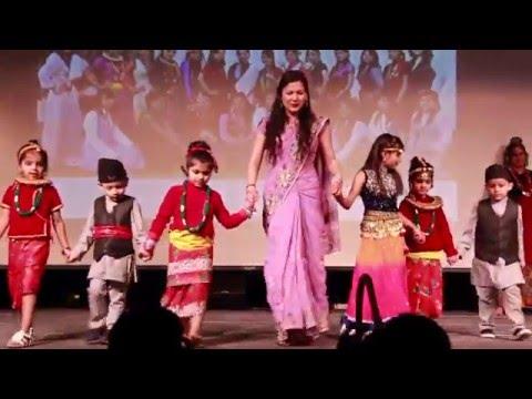 Showcase of Traditional Nepali Costumes - Nepal Nite 2016 - Nepalese Student Association (NeSA)