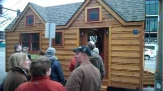 Seattle Tiny Homes Tour- A Small Cabin/House (w/Deek,Jay Shafer,Dee Williams)