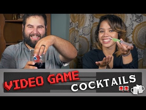 Video Game Cocktails - Let's Drink with Holland Farkas