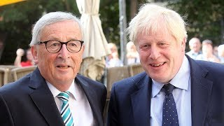 Jean-Claude Juncker admits risk of no-deal 'palpable'