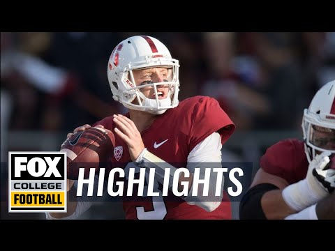 Stanford vs San Diego State | FOX COLLEGE FOOTBALL HIGHLIGHTS