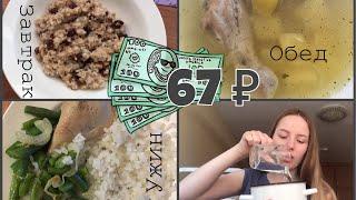 Как прожить на 67 рублей в день? / Бюджетное правильное питание