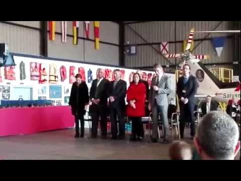 Homenaje en Gijón a la tripulación del Pesca 2 y del Helimer