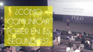 """""""Cómo comunicar poder en 15 segundos"""" por Usua Manero Activación para L'Oreal"""