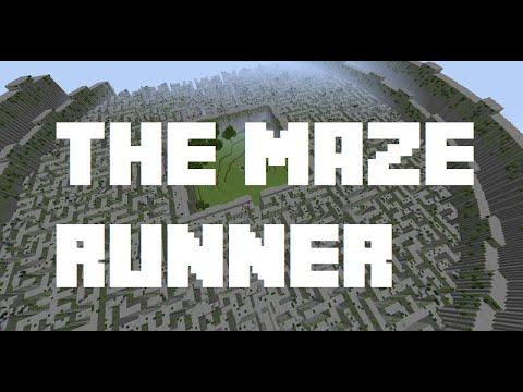 Minecraft Movies: The Maze Runner Adventure Map Part 1 ...