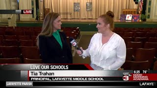 Love Our Schools: Lafayette Middle School