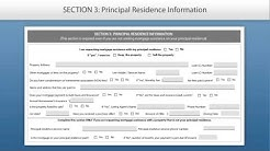 Request for Mortgage Assistance Form Tutorial -- English