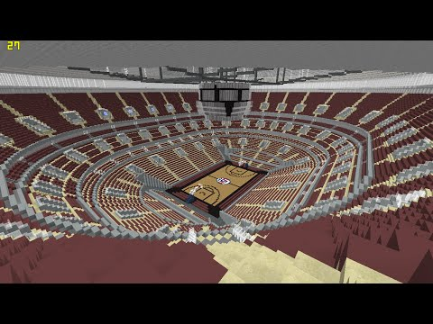 Minecraft - MEGABUILD - United Center (Chicago Bulls) + DOWNLOAD [Official]