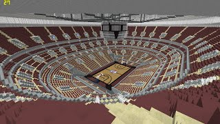 Minecraft - MEGABUILD - United Center (Chicago Bulls) + DOWNLOAD [Official]