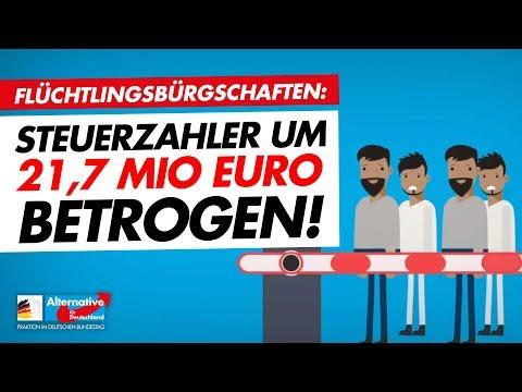 Flüchtlingsbürgschaften: Steuerzahler Um 21,7 Mio. Euro Betrogen!