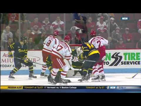 Hockey East Quarterfinal Merrimack at Boston University - 3/14/15