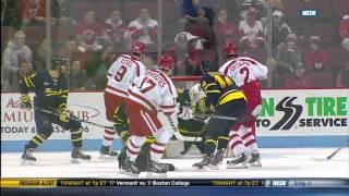 Hockey East Quarterfinal Merrimack at Boston University - 3/14/15