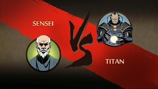 Shadow Fight 2 SENSEI VS TITAN