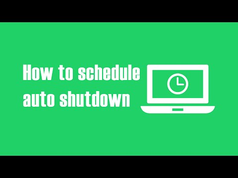 How to Schedule Auto Shutdown, Log-Off & Hibernate on Windows 10 PC?