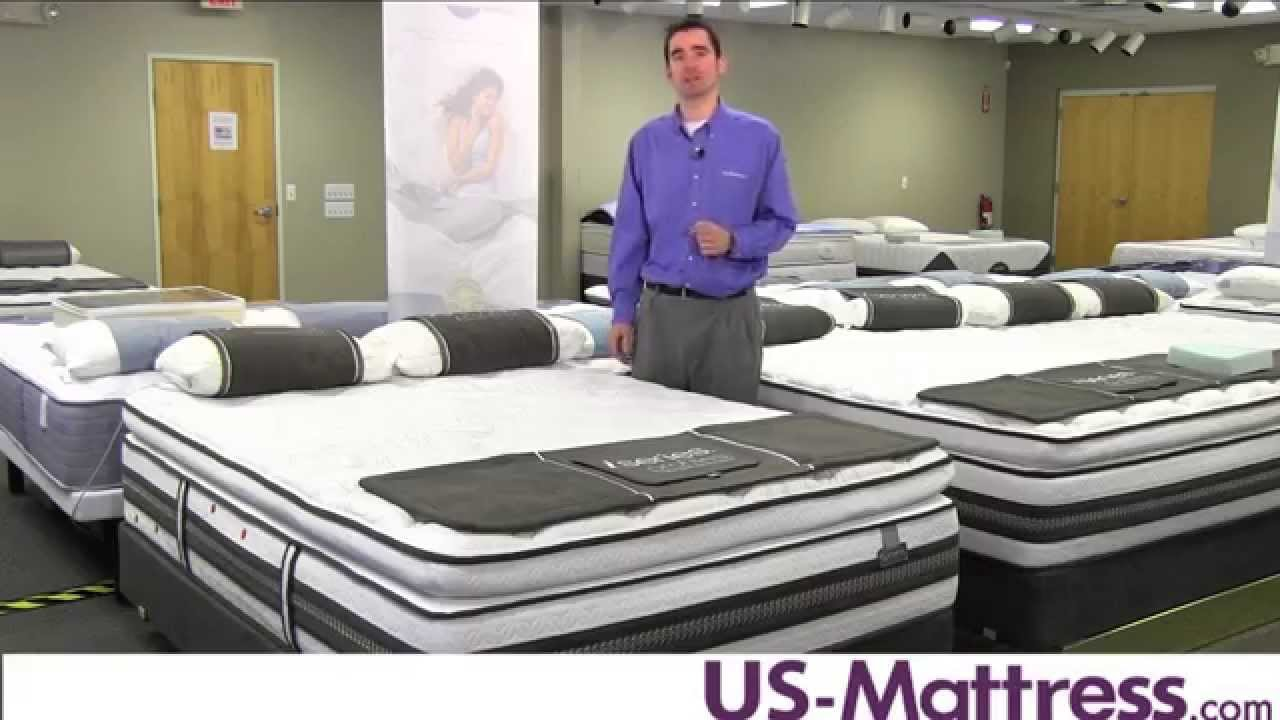 Serta iseries profiles caliber super pillow top mattress for Serta iseries