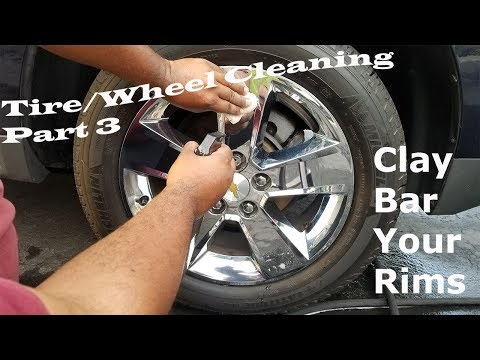 Clay Bar Your Rims - Tire & Rim Cleaning Part 3