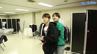 When BTS (방탄소년단) has two Maknae (Jin and Jungkook)