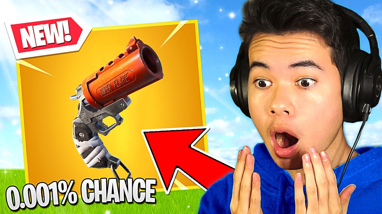 the FLARE GUN that is impossible to find... (New Update)