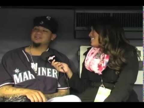 """La Chica Deportes Entrevista a Felix Hernandez """"King Felix"""""""