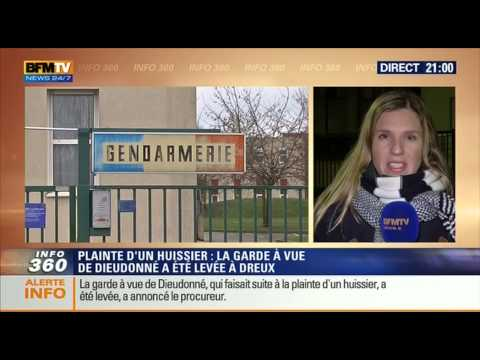 Quenelle Power in BFMTV lol