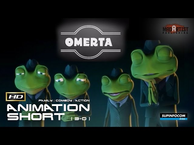 OMERTA | Gangsters, Mafia, Frogs and Rhinos (3D CGI Animation by Supinfocom)