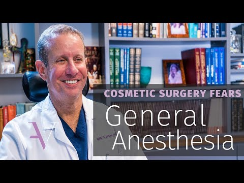 Fear of Going to Sleep: The Risk of General Anesthesia