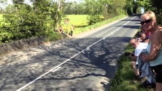Isle Of Man TT racing at Glen Lough campsite 2013