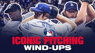 Most iconic windups throughout baseball history