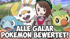 Alle Galar Pokémon kurz bewertet! - RGE (1/2)