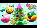 Christmas Art & Craft | Learn Colors | Wonder Balls Funny Cartoon | WonderBalls Playground