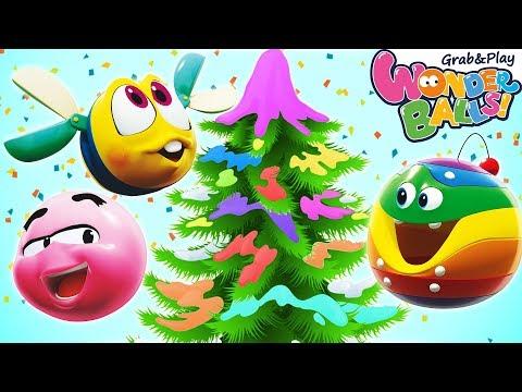 Christmas Concert 2019 Squishy Wonderballs Playground Funny Cartoons For Children Youtube