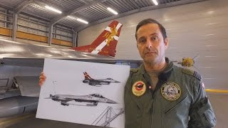 Danish Air Show: Mal halen på en dansk F-16